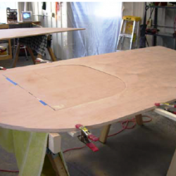 Big Woody Teardrop Camper Side/Door Templates