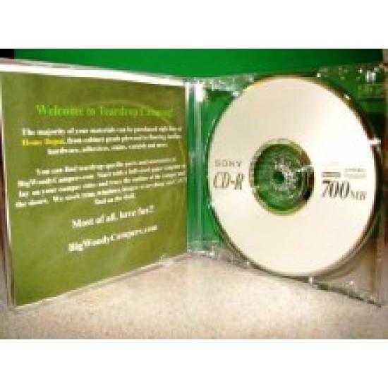 Big Woody Teardrop Camper CD Plans and Printed Templates