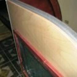 "1/2 Inch T Molding x 93"" Length"