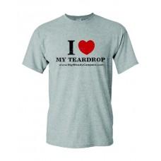 I Heart My Teardrop T-Shirt