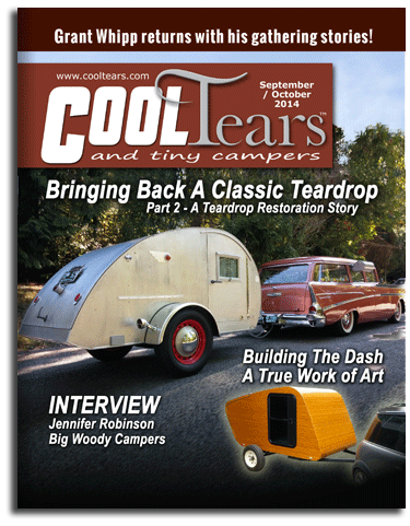Cover of Sept./Oct. 2014 issue of Cool Tears Magazine.